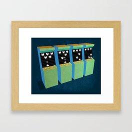 Arcade dream Framed Art Print