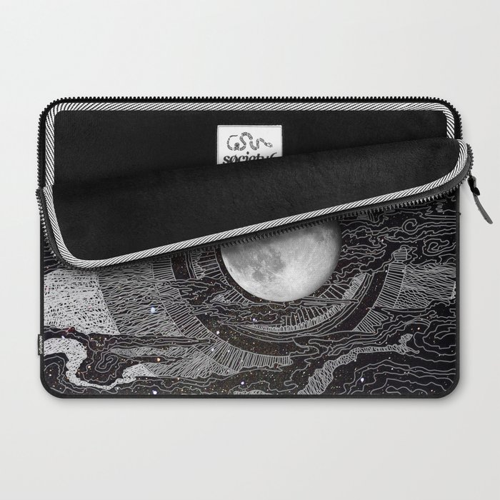Moon Glow Laptop Sleeve