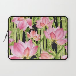 Tropical floral pattern #1 Laptop Sleeve