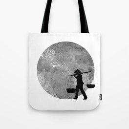 Vietnamese Women Street Vendors under the Moonlight Tote Bag