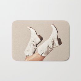 These Boots - Neutral Bath Mat