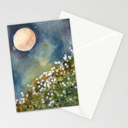 Moon Drops on Sacred Ground Stationery Cards