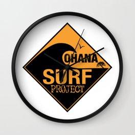 Ohana Surf Project 2 Wall Clock