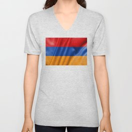 Armenia Flag Unisex V-Neck