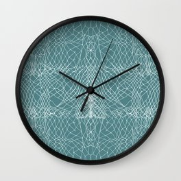 Primerose Teal Wall Clock