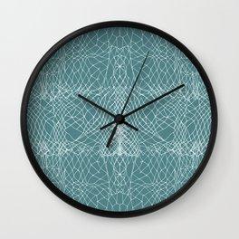 Primerose Teal Wall Clock