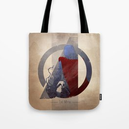 Avengers Assembled: The Myth Tote Bag