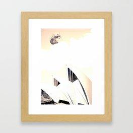 Sydney, Australia Travel Poster 6 Framed Art Print
