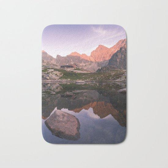 Rocky Lake Bath Mat