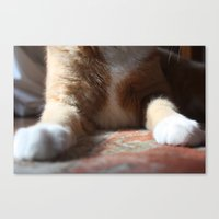 tigger Canvas Prints featuring Tigger by Erin Stevens