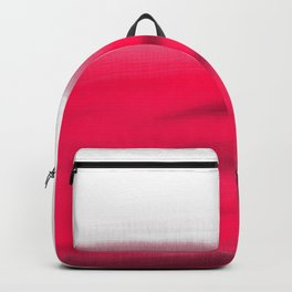Pink Fields Abstract Painting - Dreaming in Nature Backpack