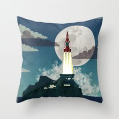 Tracy Island Throw Pillow