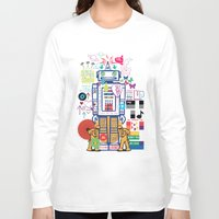 coldplay Long Sleeve T-shirts featuring we live in a beautiful world by Giulia De grazi