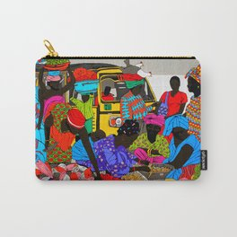 african market 1 Carry-All Pouch