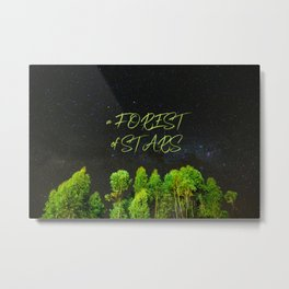 A Forest of Stars Metal Print
