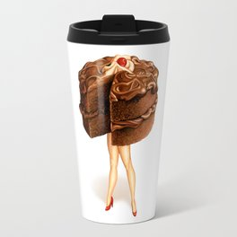Cake Girl - Chocolate Travel Mug
