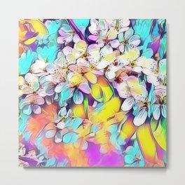 Floral ArtStudio 31 Metal Print