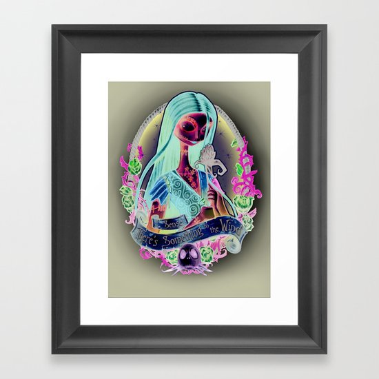 """Something In the Wind"" Framed Art Print"