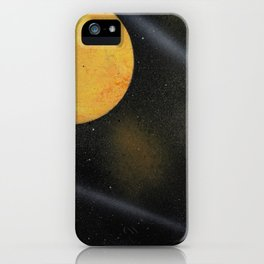 Looking Up - Spray Paint Art iPhone Case