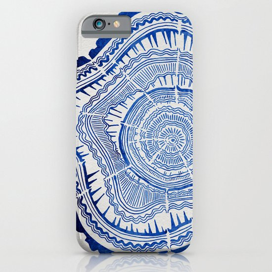 Growth Rings – 65 Years – Navy iPhone & iPod Case