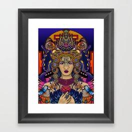 Kali Goddess Framed Art Print