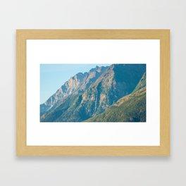 Mountain Slopes Framed Art Print