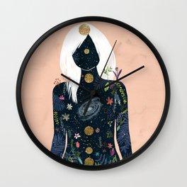 Intern magician Wall Clock