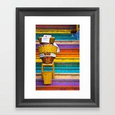 Stair Sales Framed Art Print