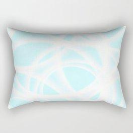 Smoke Sky Blue Doctor Rectangular Pillow