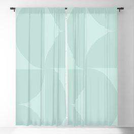 Monochromatic Minimalism - Sage Green Blackout Curtain
