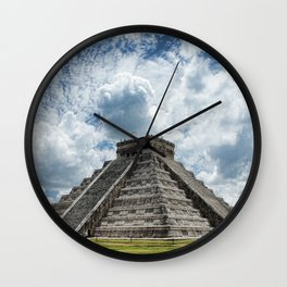 Chichen Itza Wall Clock