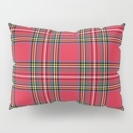 Red & Green Tartan Pattern Pillow Sham