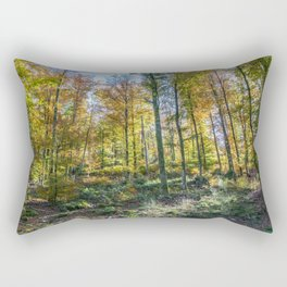 Colorful French forest Rectangular Pillow