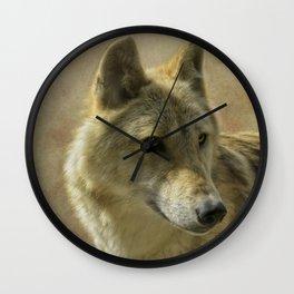 she-wolf Wall Clock
