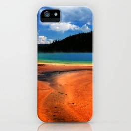 Grand Prismatic Spring in Yellowstone NP iPhone Case