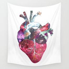 Superstar Heart (on white) Wall Tapestry