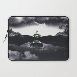 The Landing A Zebes Surrealism Laptop Sleeve