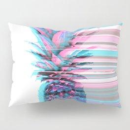 Light Blue and Pink Pineapple Pillow Sham