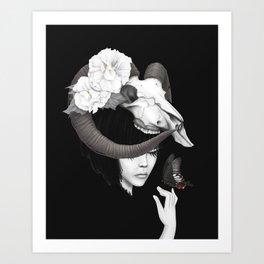 Iswara Art Print