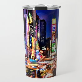 Times scuare Travel Mug