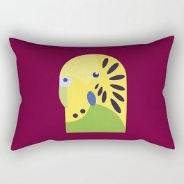Budgerigar Rectangular Pillow