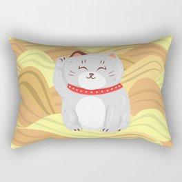 """FortuNEKO - """"Sasha"""" Rectangular Pillow"""