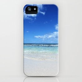 Isla Saona Caribbean Beach iPhone Case