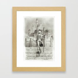 The Abyss Of Fantasy Framed Art Print