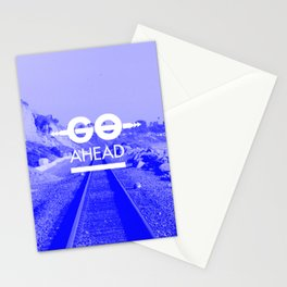 GO AHEAD Stationery Cards