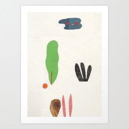 bottom of the jungle Art Print