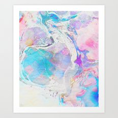 Messy Paint #society6 #decor #buyart Art Print