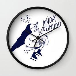 Anda Desnudo Wall Clock