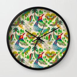 Paradis Antique Wall Clock
