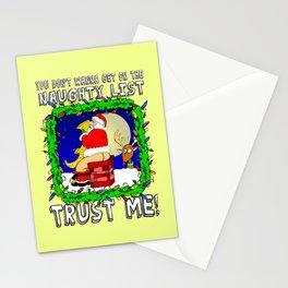 Naughty List  |  Santa Claus  |  Christmas Stationery Cards